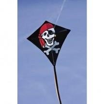 Aquilone statico Monofilo HQ Eddy Jolly Roger Larghezza estensione 680 mm Intensità forza del vento 2 - 5 bft