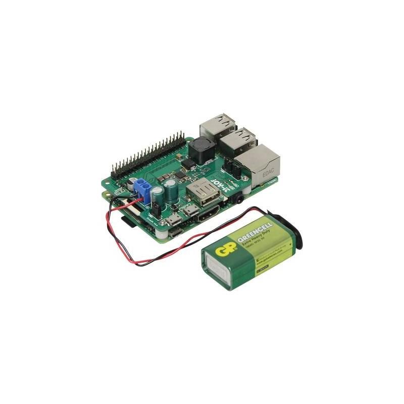 Ups Per Raspberry PiΛ Rb-Strompi2 Arduino, Banana Pi, Raspberry PiΛ A, B,  B+, Raspberry PiΛ 2 B, Raspberry PiΛ 3 B, Pcd