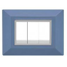 Placche compatibili Bticino Axolute, azzurra, 3 o 4 posti prezzi prezzo on line