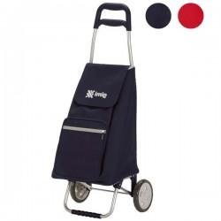 Carrello Spesa Argo Blu L 45 37X33 H 96 Gimi 154354