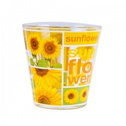 Bicchiere Nadia Acqua Cc 250 Pz.3 Sunflower Cerve M50250