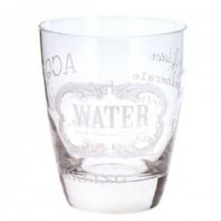 Bicchiere Domino Acqua Cc 300 Pz.3 Whitetext Cerve M52430