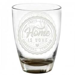 Bicchiere Fonte Acqua Home Love Cc 310 Pz 3 Cerve M86650