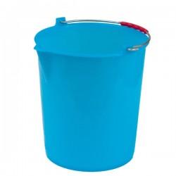Secchio Polietilene Azzurro Becco L 6 24060