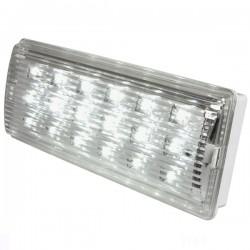 Lampada Emergenza Fissa Slim 18 Led Velamp ER018