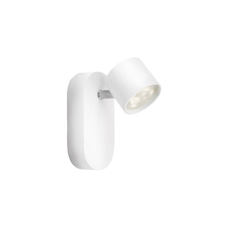 Faretto LED da parete 4 W Classe energetica: LED Bianco caldo Philips Lighting 56240/31/16 Bianco