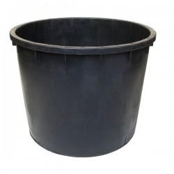Mastello Tondo Nero L 210 80 H 55 Ics P150210