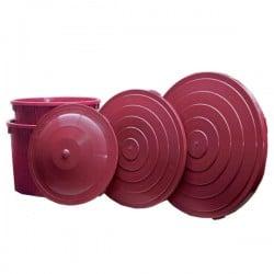 Coperchio Mastelli Tondi Vinaccia L 350/500 Ics M150505