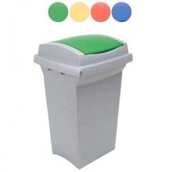Bidone Recycling Blu L 50 43X39 H 68 Ics C852050
