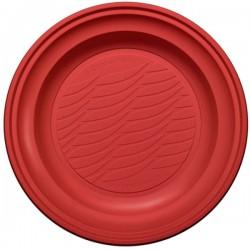 Piatto Fondo Pz 20 Rosso Natural Bibo 5586901