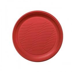Piatto Dessert Pz 20 Rosso Natural Bibo 5587901
