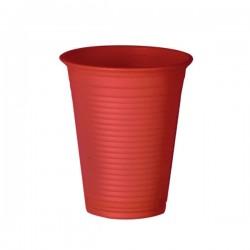 Bicchiere Cc 200 Pz 50 Rosso Natural Bibo 5588901