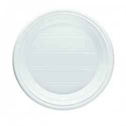 Piatto Fondo G 6 Pz 100 Everyday Bianco Bibo 5590590