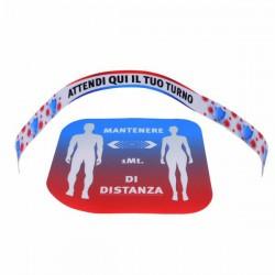 Adesivi Distanziamento Fisico Kit Pz 9