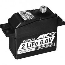 MKS Standard Servo DS1220 Servo digitale Materiale trasmissione: Metallo Sistema innesto: Spina JR