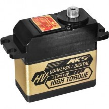 MKS Standard Servo HV777A+ Servo digitale Materiale trasmissione: Metallo Sistema innesto: Spina JR