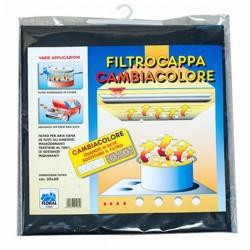 Filtro Cappe Carboni Cambiacolore Cm 50X80 Floral 1064