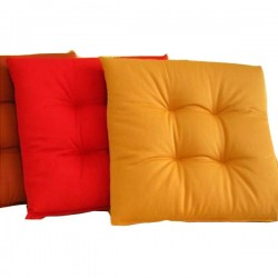 Cuscino Softy Panama Arancio Cm 38X38 Pz 2 Floral 10138