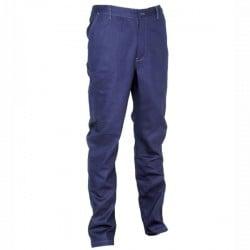 Pantalone Cotone Blu Navy 48 Eritrea Cofra V351-0-01.Z48