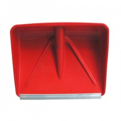 Pala Neve Abs 45 Rossa Rinforzo Alluminio Stea 014SCP