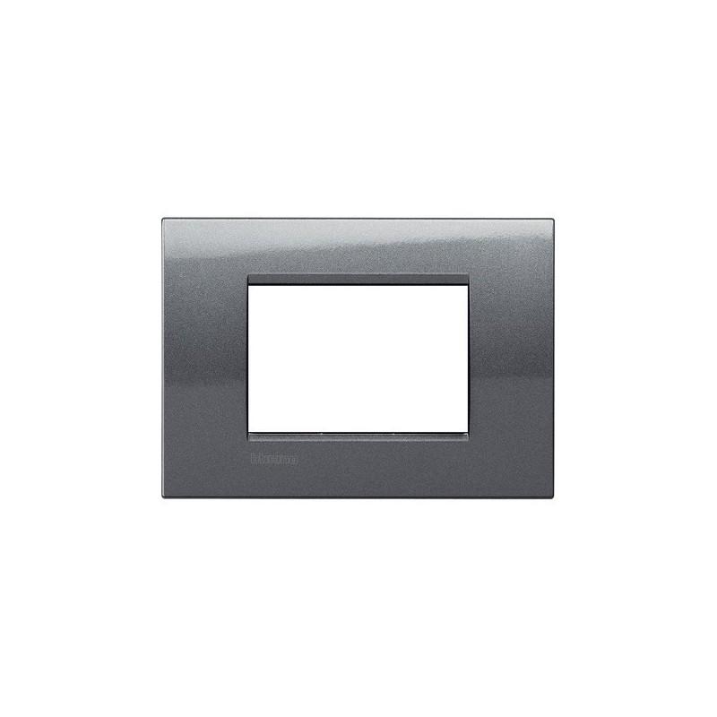 Placchetta Bticino Living Light costruita in metallo, verniciatura in acciaio, Finitura Metals,  prezzo