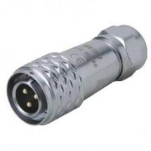 Weipu SF1210/P4 I Connettore circolare Spina dritta Serie: SF12 Tot poli: 4 1 pz.