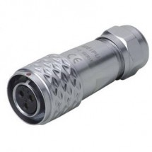 Weipu SF1210/S3 I Connettore circolare Giunto dritto Serie: SF12 Tot poli: 3 1 pz.