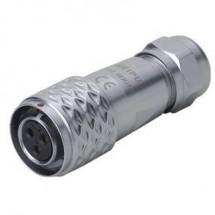 Weipu SF1210/S5 II Connettore circolare Giunto dritto Serie: SF12 Tot poli: 5 1 pz.
