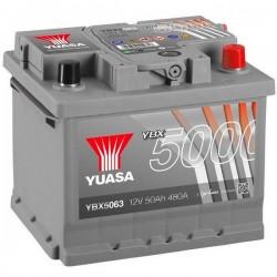 Batteria Per Auto Yuasa Smf Ybx5063 50 Ah T1 Applicazione Celle 0