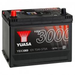 Batteria Per Auto Yuasa Smf Ybx3069 70 Ah T1 Applicazione Celle 1