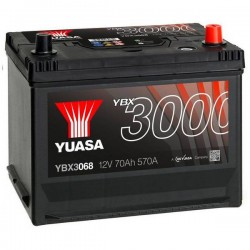 Batteria Per Auto Yuasa Smf Ybx3068 70 Ah T1 Applicazione Celle 0