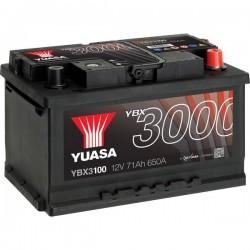 Batteria Per Auto Yuasa Smf Ybx3100 71 Ah T1 Applicazione Celle 0