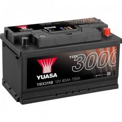 Batteria Per Auto Yuasa Smf Ybx3110 12 V 80 Ah T1 Applicazione Celle 0