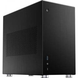 Jonsbo V10-A Black Mini-Tower Pc Case Da Gioco, Contenitore Nero