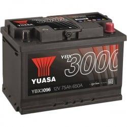 Batteria Per Auto Yuasa Smf Ybx3096 75 Ah T1 Applicazione Celle 0