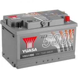 Batteria Per Auto Yuasa Smf Ybx5100 75 Ah T1 Applicazione Celle 0