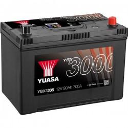 Batteria Per Auto Yuasa Smf Ybx3335 90 Ah T1 Applicazione Celle 0