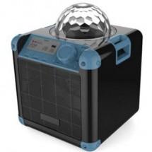 X4 Tech Bobby Joey Boomstar Altoparlante Bluetooth Aux, Usb Nero, Blu