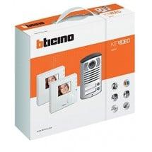 Kit Videocitofono Bticino 365521 Bifamiliare a colori Classe 100V12B
