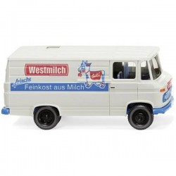 Wiking 027058 H0 Mercedes Benz L 406 Vagone A Box Westmilch