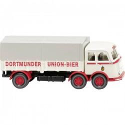 Wiking 042903 H0 Mercedes Benz Camion Pritschen Lp 333 Dortmund Union