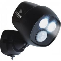 Mediashop Panta Safe Light M19175 Lampada Da Parete Per Esterni Con Rilevatore Di Movimento 5 W