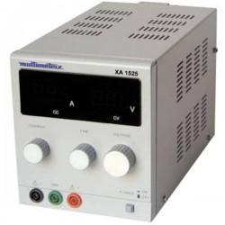 Multimetrix Xa 1525 Alimentatore Da Laboratorio Regolabile 0 - 15 V 0 Ma - 2.5 A Num. Uscite 1 X
