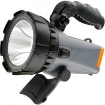 Lampada Portatile A Batteria Ampercell 02701 Grigio-Nero Led 12 H
