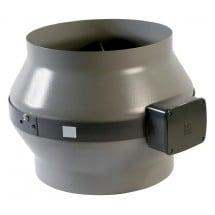 Aspiratore Vortice Centrifugo Assiale in Acciaio 200mm 500mc/h
