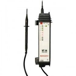 Multimetrix Vt 14 Tester Di Tensione A Due Poli Cat Iii 600 V Led