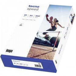 Inapa Tecno Speed 2100011521 Carta Universale Per Stampanti Din A4 80 G/M² 500 Foglio Bianco