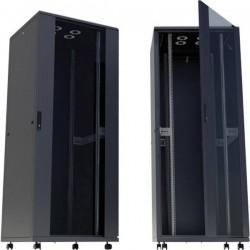 Intellinet 713184 Armadio Rack Di Rete Da 19 (L X A X P) 600 X 2057 X 800 Mm 42 He Nero (Ral 9005)