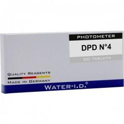 Water Id 50 Tabletten Dpd N°4Für Poollab Tavolette