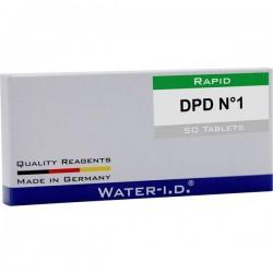 Water Id 50 Tabletten Dpd N°1 Für Flexitester Tavolette